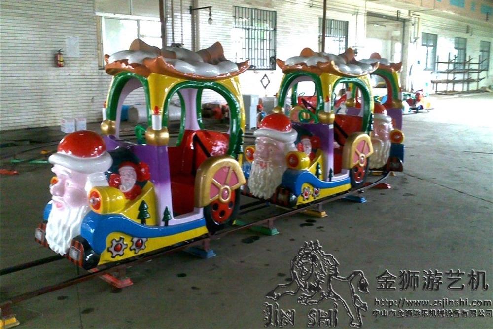 圣诞老人追逐车